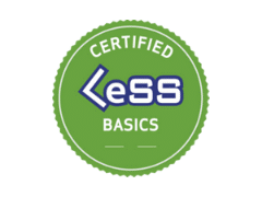 certified less basics logo